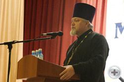 Напутствие духовника РМпД протоиерея Сергия Заруцкого