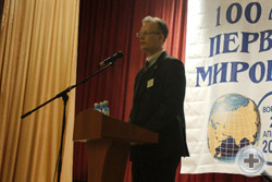 Известный деятель движения военной реконструкции А.Г.Малов