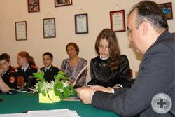 Собрание «Царская семья – идеал любви семейной жизни» в молодежном клубе «Гвардия» города Сарапула Удмуртской Республики. 16 мая 2014 г.