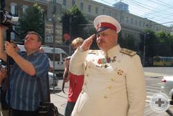 Директор Михайловского кадетского корпуса полковник А.И.Голомёдов