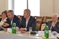 Приветствие лётчика-космонавта, представителя Севастополя в Москве и Санкт-Петербурге Сергея Крикалева