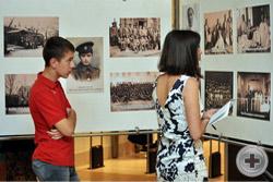 Особый интерес к выставке проявила молодёжь