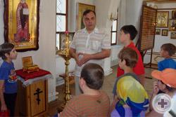 Дворянское Собрание Удмуртии приняло участие в занятиях Молодежного православного лагеря