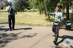 Красноярское ДС приняло участие в праздновании Дня Енисейского казачьего войска