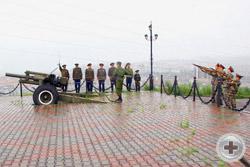 Салют в честь героев Великой войны
