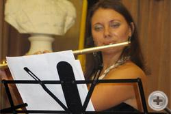 Педагог музыкальной школы им. Моцарта Екатерина Сидоренко (флейта)