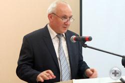 Выступает Предводитель Тамбовского Дворянского Собрания Н.Н.Тверитинов
