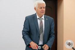 Председатель Морской секции РДС А.П.Нахимов открывает конференцию