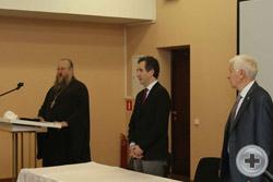 Иеромонах Никон (Левачев-Белавенец) возглавил пение «Вечной памяти»