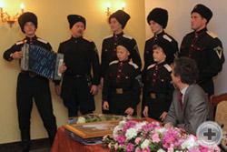 Песни Первой мировой войны в исполнении музыкально-певческой команды учебного казачьего взвода «Рубеж» Майкопской городской казачьей общины