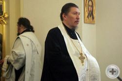 Протоиерей Игорь Олжабаев, настоятель Свято-Екатерининского кафедрального собора, ректор Екатеринодарской Духовной Семинарии