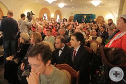 Потомки дворянских родов России и Кубани, гости, участники Х Международных Дворянских чтений с интересом следят за происходящим