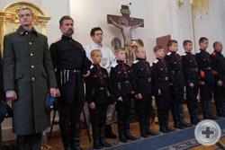 Лития по убиенным воинам, отдавшим жизни за Отечество. Возглавляет литию митрополит Екатеринодарский и Кубанский Исидор