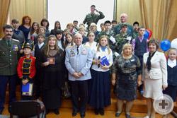 Члены Красноярского Дворянского Собрания с участниками фестиваля