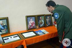 На фестивале была развёрнута экспозиция, посвященная 400-летию Дома Романовых