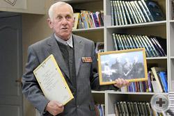Экспонаты семейного архива представляет член РДС дмитровчанин А.Н.Поливанов