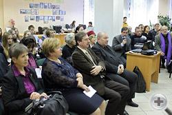 Участники церемонии открытия выставки