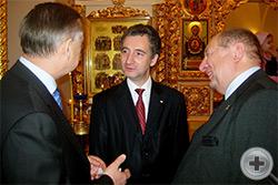 Беседа руководителей РДС с А.Д.Бегловым