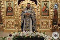 Слово настоятеля храма протоирея Михаила Гуляева