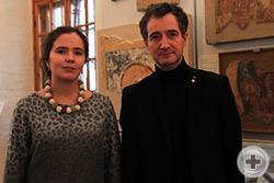Автор и куратор проекта Дарья Матвеенко и Предводитель РДС Олег Щербачев