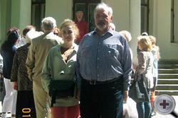 С.В.Думин с супругой