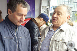 О.В.Щербачев и С.А.Рязанцев