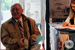 Бывший Предводитель объединения членов РДС в Крыму в начале 1990-х годов Евгений-Герман Анатольевич Логиновский
