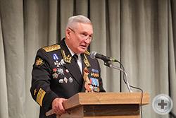 Приветствие от В.Д. Федорова, адмирала, командующего Тихоокеанским флотом в 2001 – 2007 гг.