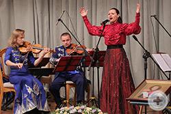 «Молитва казачки» в исполнении Заслуженной артистки России и Украины Марины Гольченко