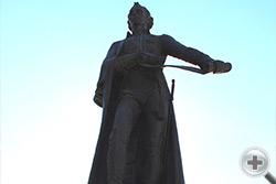 Памятник А.В. Суворову в Краснодаре (Екатеринодаре)