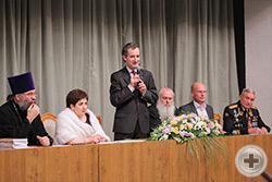 Приветствие предводителя Российского Дворянского Собрания О.В. Щербачева
