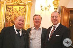 Первый Вице-Предводитель РДС А.Ю.Королев-Перелешин, В.И.Брагин и А.Н.Закатов