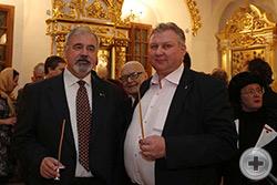 С.В.Думин (слева) и Г.Ю.Лукьянов