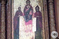 Икона Свенской (Печерской) Божией Матери