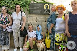 Делегация потомков участников первой обороны Севастополя посетила Свято-Георгиевский монастырь