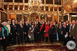 Общая фотография части участников торжества на память