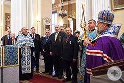 Кавалеры Императорских орденов и медалей в Свято-Троицком соборе Александро-Невской Лавры