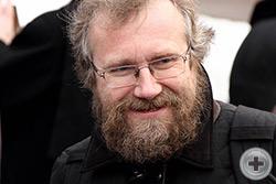 Глава общественной организации «Под княжеским стягом» во главе Ярослав Викторович Леонтьев
