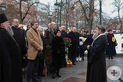 Слово священника Александра Шумского к участникам акции