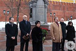Выступает председатель Общества потомков участников Отечественной войны 1812 года Виссарион Игоревич Алявдин