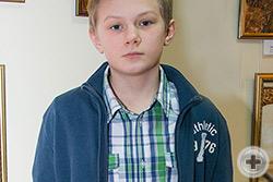 Артём Ермаков, 13 лет