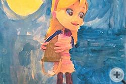 София Генри, 4 года, (США, Калифорния), «Мисс Кати»