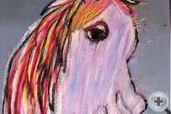 Маша Олсон, 5 лет, (США, Калифорния), «Лошадка»
