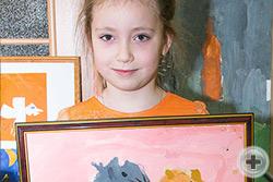 Катя Колпакова, 5 лет