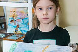 Милена Аксакова, 6 лет