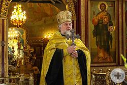 Приветственное и напутственное слово протоиерея Георгия Студенова