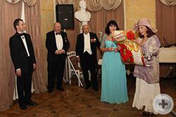 Поэтическое поздравление от представителя Департамента культуры РДС Н.Н.Кристи