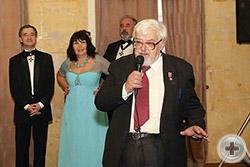 Поздравление юбиляру от Вице-Предводителя МДС П.В.Флоренского