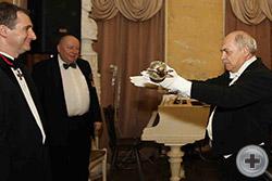 Церемония вручения наградной шпаги