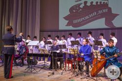 Департамент культуры РДС провёл очередную масштабную культурную акцию - концерт Казачьего ансамбля солистов «Широкий Дон» с программой «Летняя ассамблея»